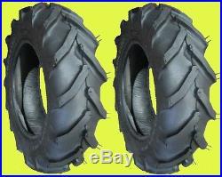 TWO 6-12 LRB Carlisle Tru Power Ag Lug Garden Tractor Tires