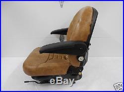 Tan Suspension Seat, Scag, Hustler, Exmark, Bobcat, Bunton, Dixie Chopper, Ztr #ha