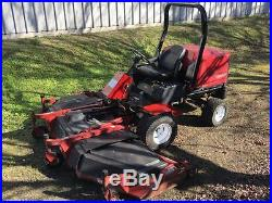 Toro Groundsmaster 455-D Large Wide Area Mower Diesel Lawn Tractor Rotary Deck