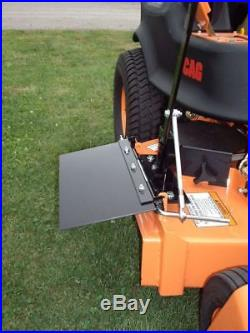 Trac Vac Zero Turn Mower Discharge Cover Fits Most Mowers Best Quality Curved