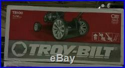 Troy-Bilt 21 140cc Gas Walk Behind Push Mower TriAction-Cutting Mulching TB100
