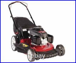 Troy-Bilt TB160 21 Honda 160 cc Gas Walk Behind Push Mower with High Rear Wheels