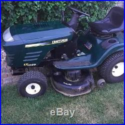 USED CRAFTSMAN LT1000 LAWN TRACTOR 20hp BRIGGS AND STRATTON 42in DECK