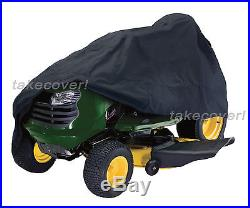 Universal Riding Lawn Mower Tractor Cover fiting craftsman john deere BLK