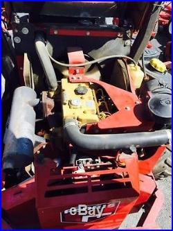 Used Ferris 61 diesel engine zero turn riding mower
