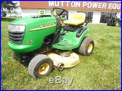 Used John Deere L110 Lawn Tractor (17.5 HP, 42 Mower)