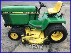 Used John Deere lawn tractor model 430