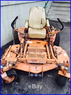 Used Scag Turf Tiger 61 zero turn rider