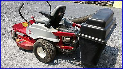 Used eXmark Quest Zero-Turn Mower with Bagger