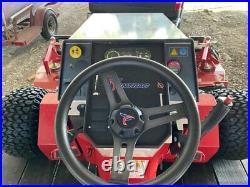 Ventrac 4500z with Contour Mower 84 2016 model Tractor for multi purpose