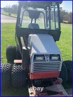 Ventrac TurboDiesel Cab With Heat includes snow pusher box and 84 inch flex deck