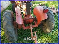 Vintage Jim Dandy Economy Tractor With Attachments