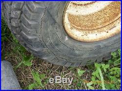 Vintage Used Allis Chalmers Homesteader Tractor 36 Mower Deck 8HP Briggs Engine