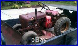 Vintage Wheel Horse Garden Tractor
