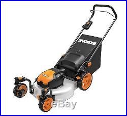 WG719 WORX 19 13 Amp Caster Wheeled Electric Lawn Mower