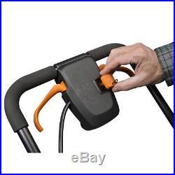 WG750 WORX Cordless 16 Lawn Mower with Mulching Capabilities
