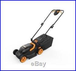 WG779 WORX 20V 4.0 Cordless 13 Lawn Mower Mulching Capabilities & Intellicut