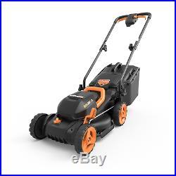 WG779 WORX 20V 4.0 Cordless 13 Lawn Mower with Mulching Capabilities & Intellicut
