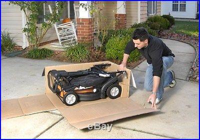 WG788 Worx 19 36V Cordless 3-in-1 Lawn Mower with Intellicut