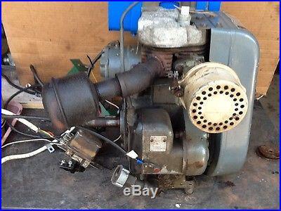 WISCONSIN 1961 7 HP ENGINE MOTOR ELECTRIC START RUNS GREAT TRACTOR MOWER GARDEN