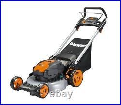 WORX WG774 56V 20 Cordless Electric Lawn Mower with Intellicut & Mulch Plug