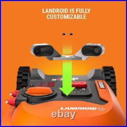WORX WR140 20V Landroid M Cordless 4.0 Robotic Lawn Mower Certified Refurbished