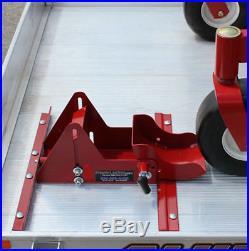 Walk Behind, Small ZTR, Mower wheel lock Power Locker See Video