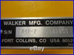 Walker Mower 42 Mulching Deck, Little used