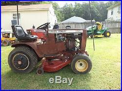Wheel Horse C81 Garden Tractor Riding Lawn Mower