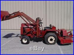 Wheel Horse Wheelhorse Garden Tractor D180 ARK Loader Mower Tiller