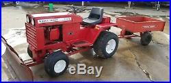 Wheel horse D 160 garden tractor vintage restored