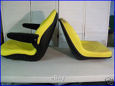YELLOW SEAT FOR JD JOHN DEERE 425,445,455,4100,4110,4115, GARDEN, COMPACT TRACTORS