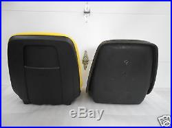 Yellow High Back Seat For John Deere 755, 855 & 955 Compact Tractor #ra