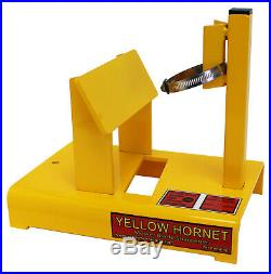 Yellow Hornet Lawn Mower Blade sharpener MADE IN USA (Not China)