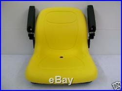 Yellow Seat John Deere 130,160,165,316,318,322,330,332,420,430, Stx38 Mowers #gm