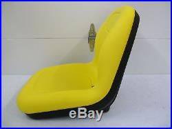 Yellow Seat John Deere 170,175,180,185,318,322,330,332,420,430, Stx38 Mowers #bw