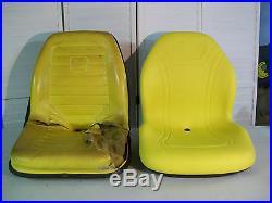 Yellow Seat John Deere F1145, F910, F911, F912, F915, F925, F930, F932, F935 Mowers #bm