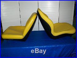 Yellow Seat John Deere X465, X475, X485, X495,575,585,595, X700,720,724,729,749 #kr