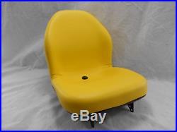 Yellow Seat John Deere X465, X475, X485, X495,575,585,595, X700,720,729,749 Jd #doai