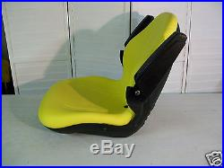 Yellow Seat John Deere X485, X495, X575, X585, X595, X720, X724, X740, X748, X729,749 #kr