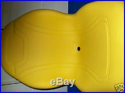 Yellow Seat John Deere X485, X495, X575, X585, X595, X720, X724, X740, X748, X729, X749#do