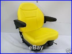 Yellow Suspension Seat Jd John Deere Front Mower, Turf, Zero Turn, Greens Mower #hd