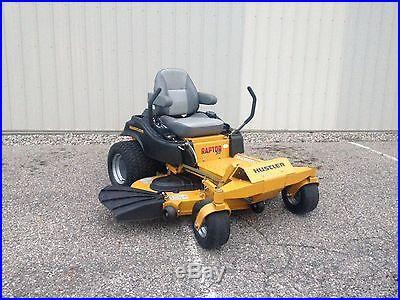 ZERO TURN Hustler Raptor SD 60 Deck / Kawasaki Engine Commercial mower